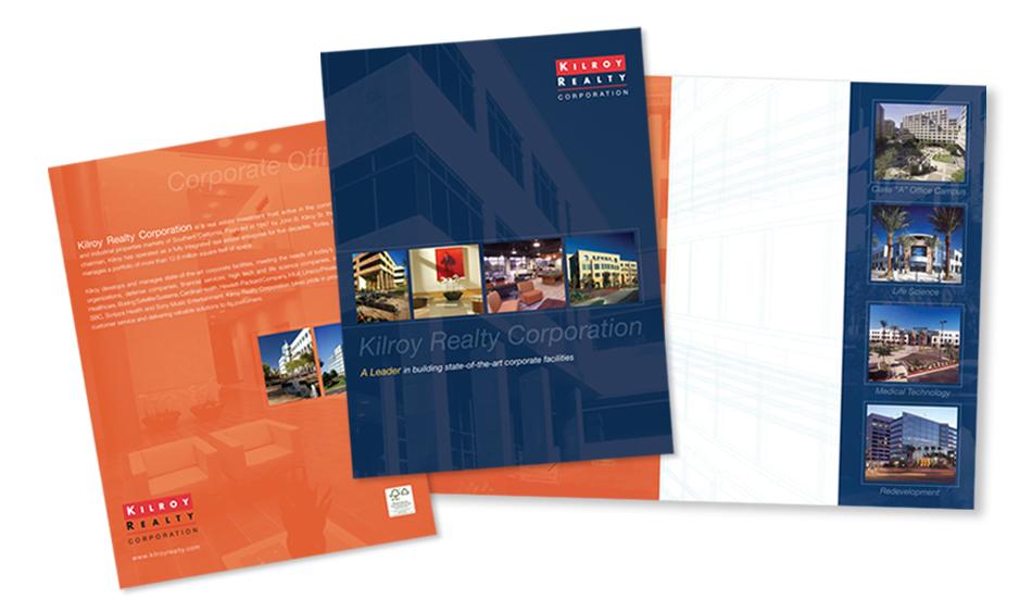 Commercial Real Estate Brochure Designer San Diego