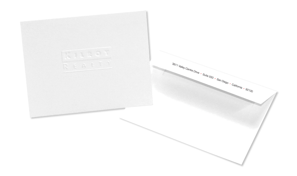 Commercial Real Estate Stationery Design San Diego
