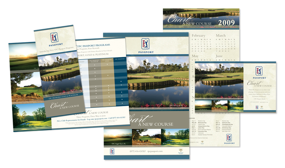 Country Club Collateral Designer San Diego