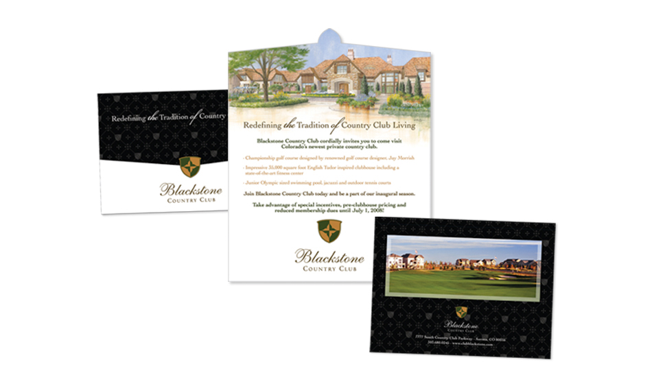 Country Club Mailer Design San Diego