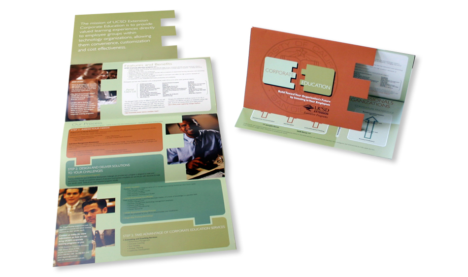Educational Direct Mail Design San Diego