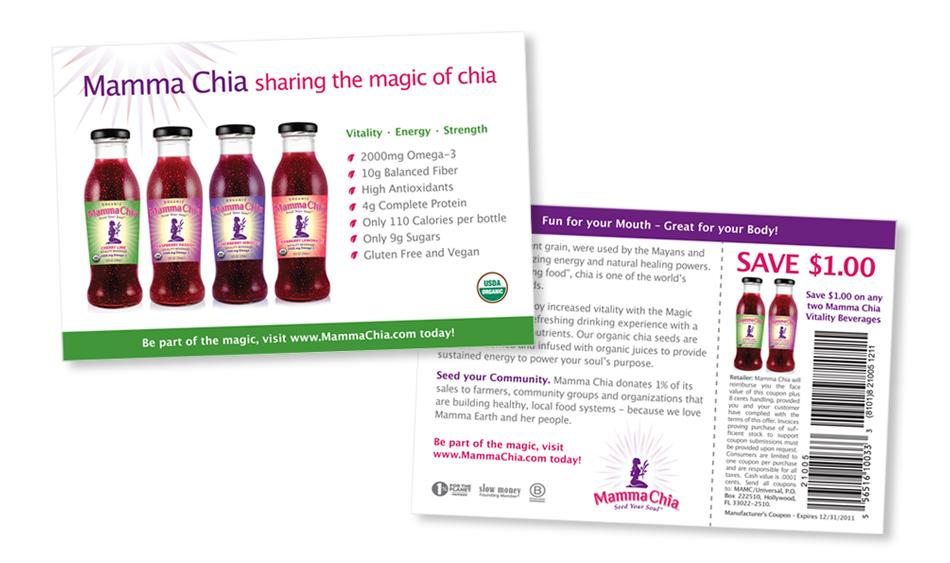 Energy Beverage Direct Mail Design San Diego