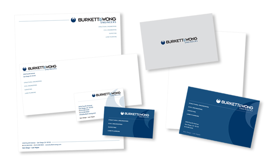 Engineering Stationery Design San Diego