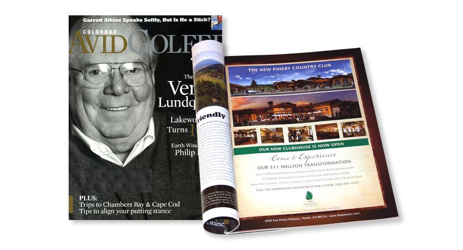 Golf Advertising Design San Diego