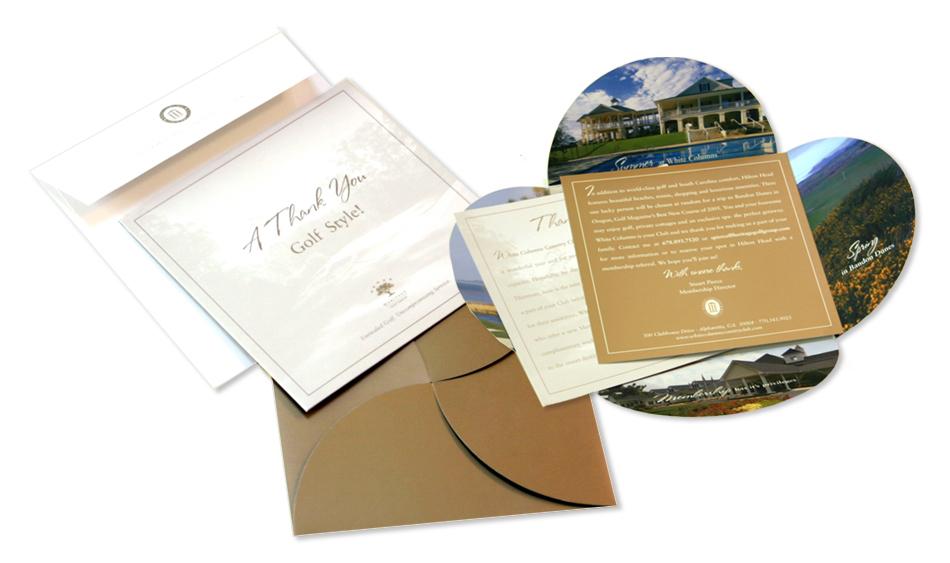 Golf Direct Mail Designer San Diego