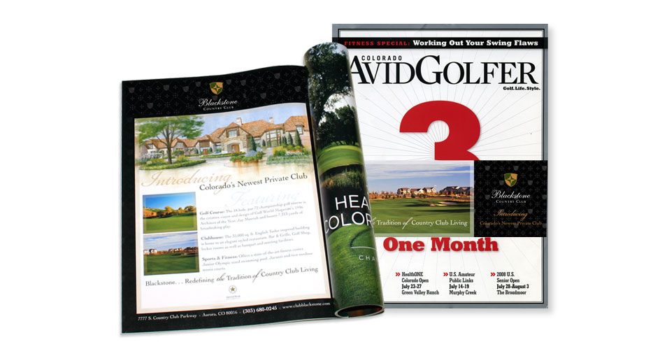 Golf Magazine Design San Diego