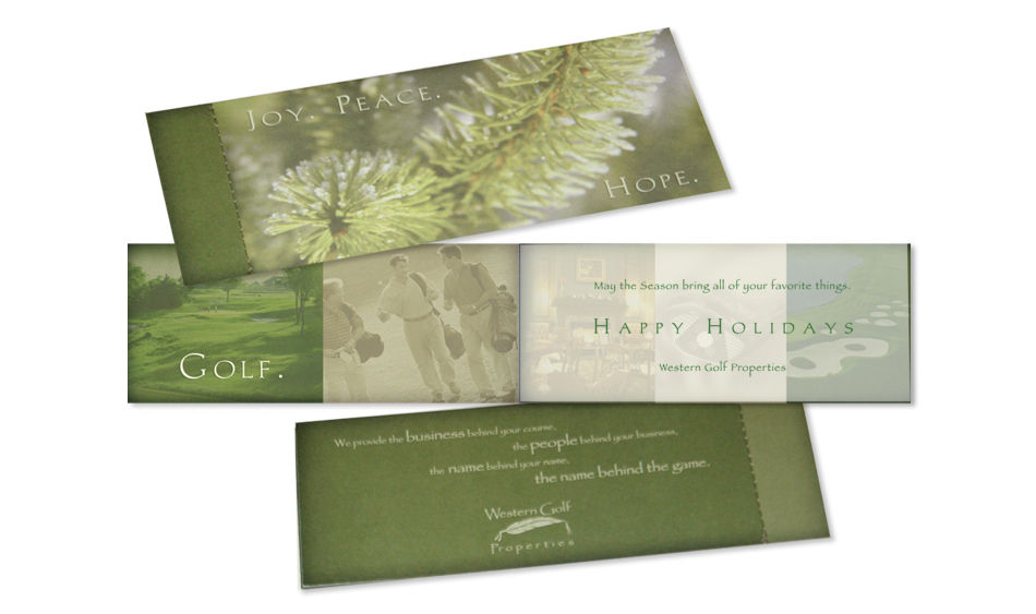 Holiday Direct Mail Design San Diego