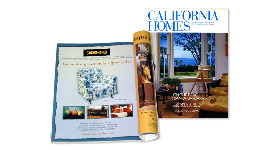 Home Furnishings Advertising Design San Diego