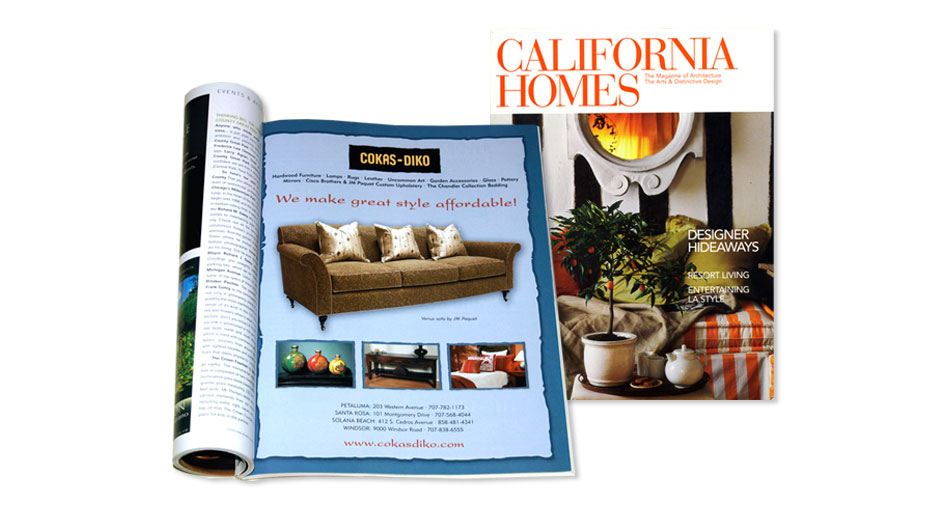 Home Furnishings Advertising Designer San Diego