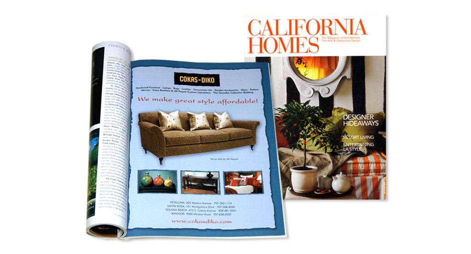Home Furnishings Advertising Designer San Diego