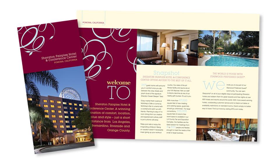Hotel Brochure Designer San Diego