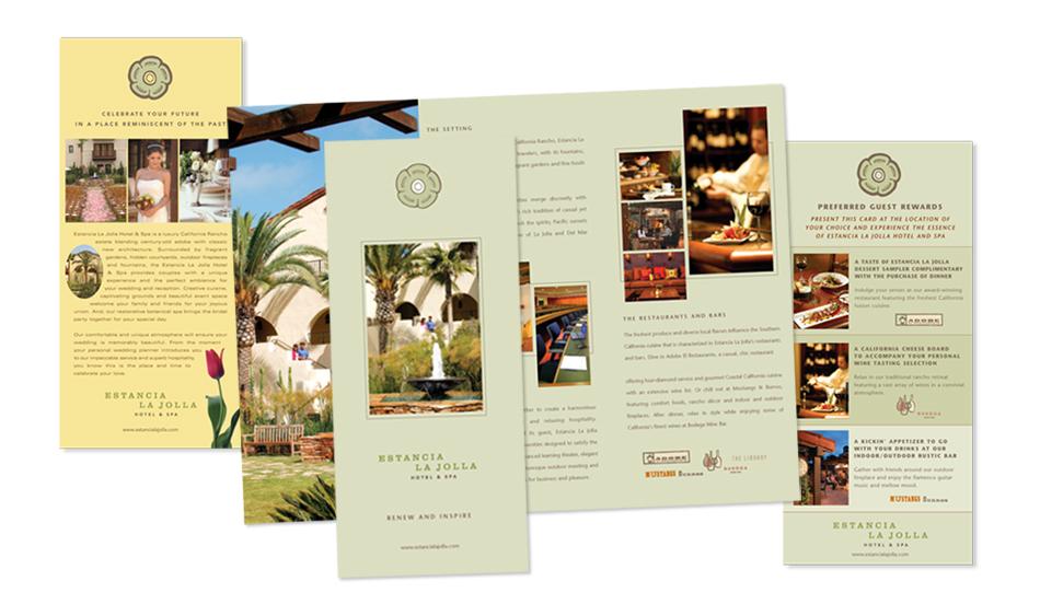 Hotel Spa Brochure Designer San Diego