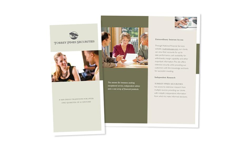 Investment Brochure Designer San Diego
