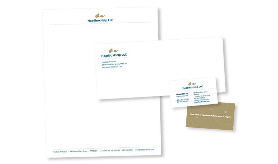 Maintenance and Repair Stationery Design San Diego