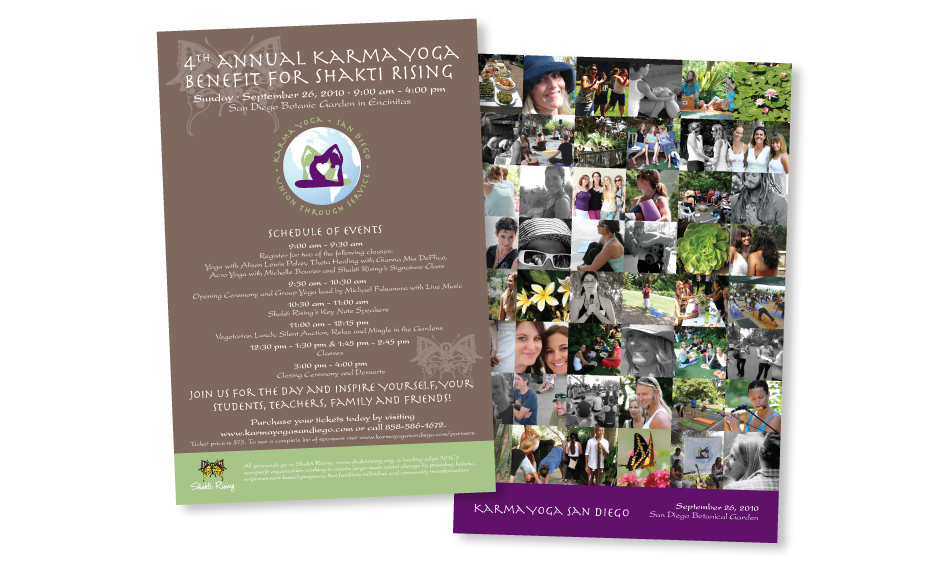 Non Profit Direct Mail Design San Diego