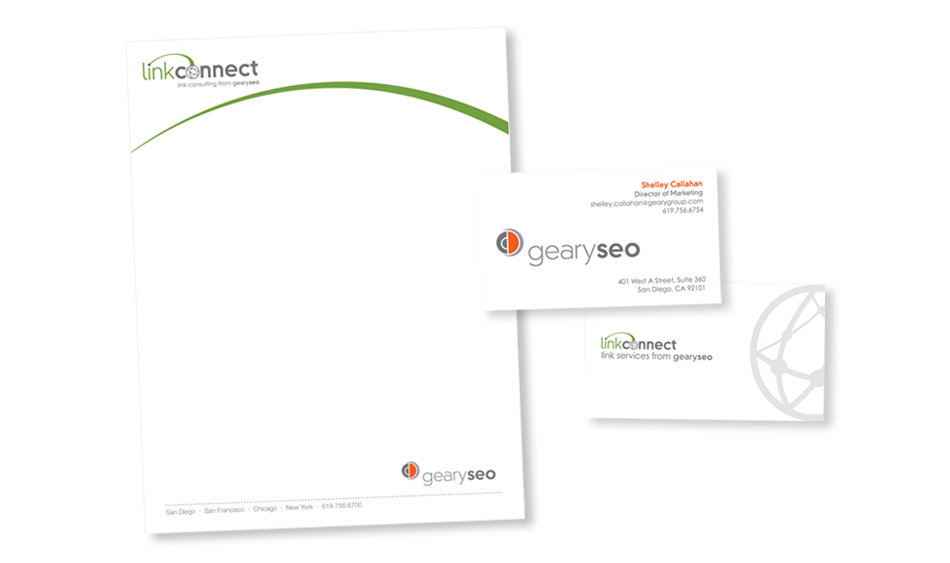Professional Services Stationery Design San Diego