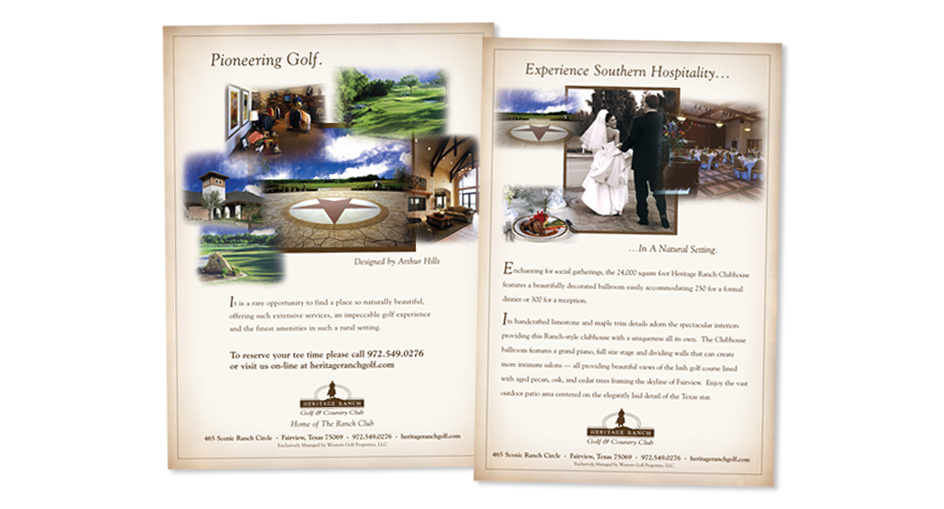 Golf and Country Club Resort Campaign Designer San Diego