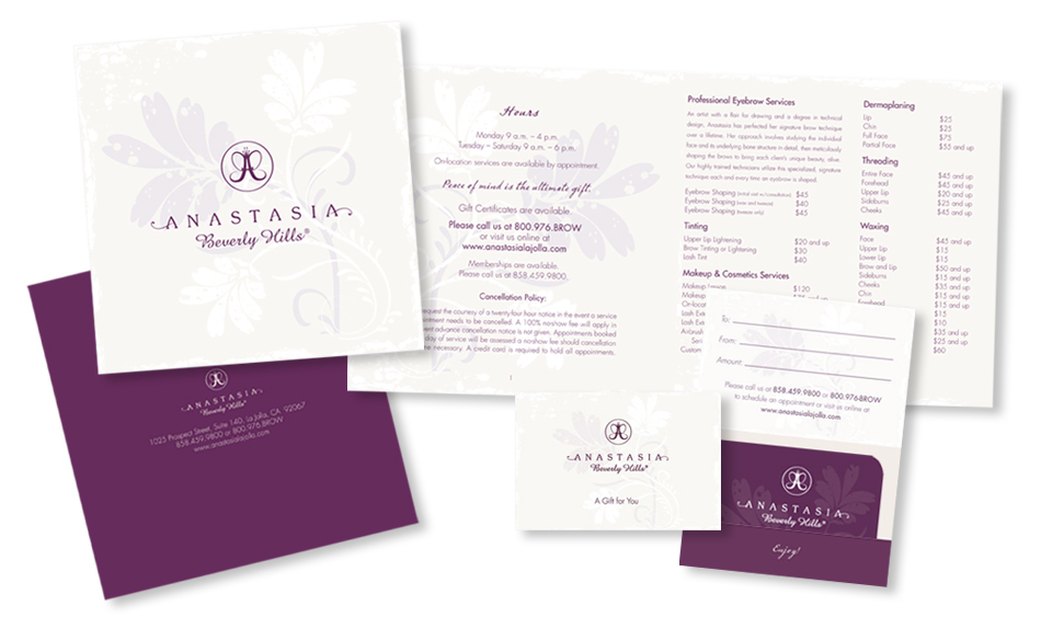 Spa Brochure Design San Diego