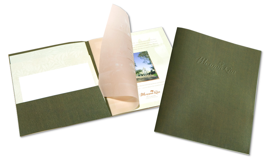Spa Brochure Designer San Diego