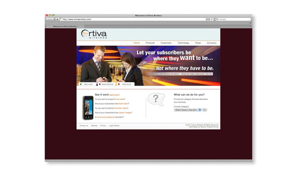 Wireless Company Website Designer San Diego