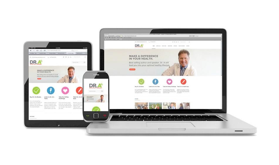 Nutrition WordPress Website Designer San Diego