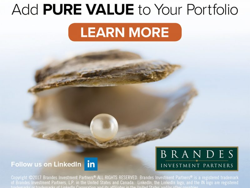 Brandes Investment Partners Advertising Campaign: Add PURE VALUE to Your Portfolio